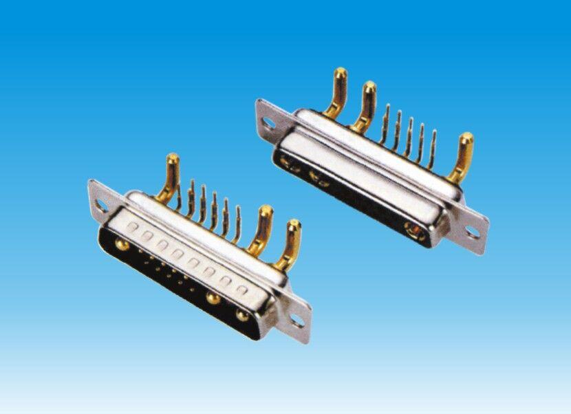 13W3 焊线式公母座
