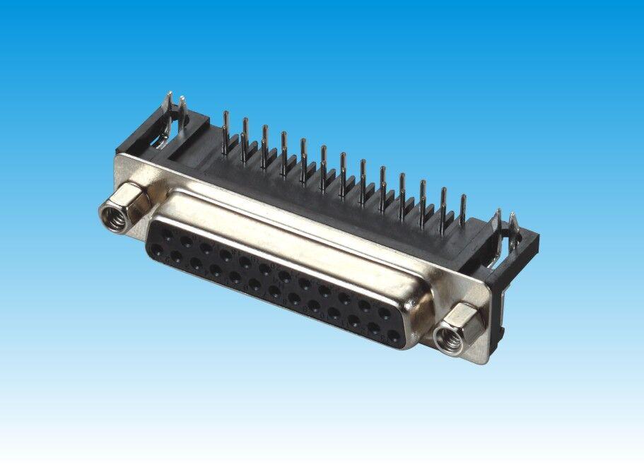 DR-9P,15P,25P,37P/母头/黑胶/铆合带螺丝