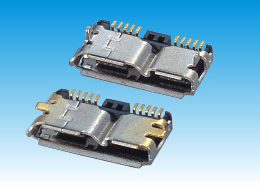 MICRO USB 3.0 B/F SMT