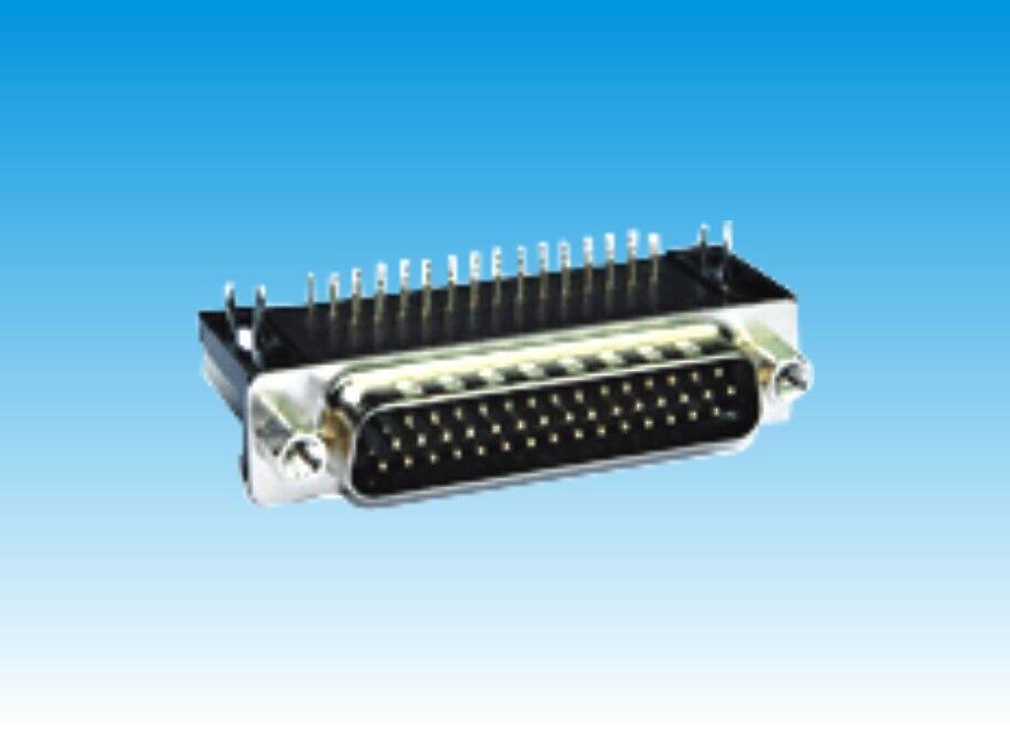 HDR 15P,26P,44P,62P公头/三排/黑胶/叉锁/半金(8.89)
